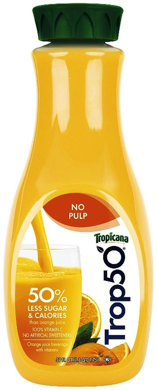 And Trop50 comes in 8 flavors, including apple and pineapple mango. I'm heading to the supermarket right now to stock up!